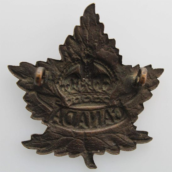 additional image for WW2 Canadian Army Division / Canada Corps CEF Cap Badge