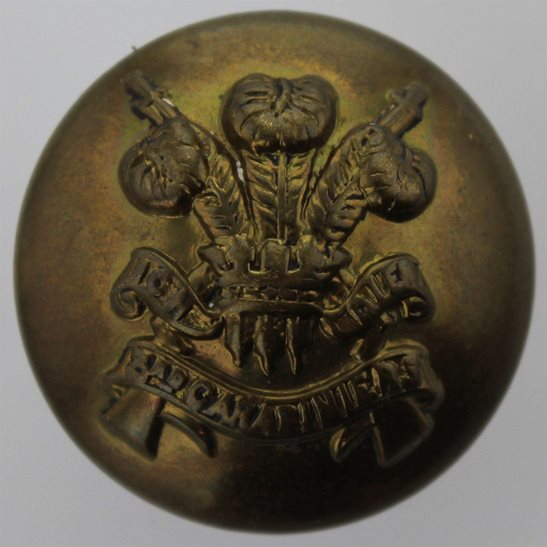 3rd Carabiniers 3rd Carabiniers Regiment Tunic Button - 26mm