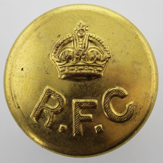 Royal Flying Corps RFC WW1 Royal Flying Corps RFC Tunic Button JENNENS & CO LTD LONDON - 24mm