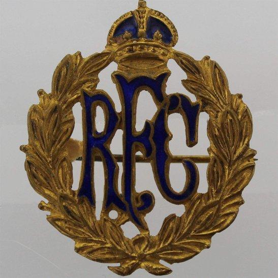 WW1 Royal Flying Corps RFC Sweetheart Brooch Badge