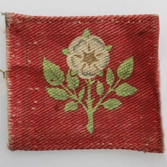 WW2 Yorkshire & Northumberland Training Brigade PRINTED Cloth Formation Sign Patch Badge