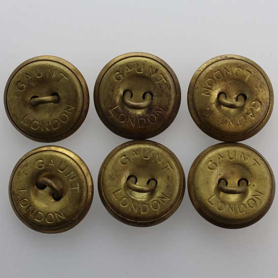 additional image for British Army General Service Buttons Set x6 24mm