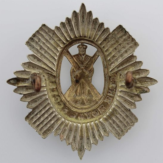 additional image for WW1 Royal Scots (Scottish) Regiment Cap Badge