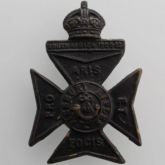 London Battalions WW1 11th London Battalion, Finsbury Rifles Regiment Cap Badge