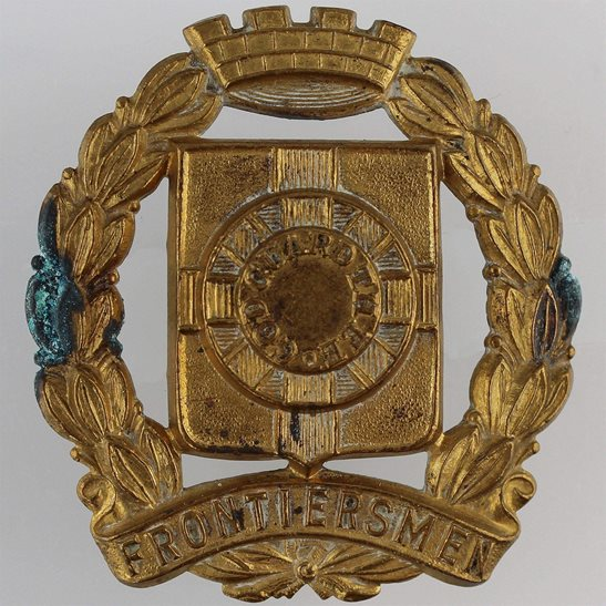 Legion of Frontiersmen Legion of Frontiersmen Imperial Paramilitary Force Cap Badge
