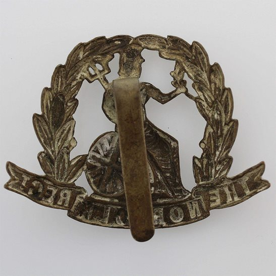 additional image for WW1 Norfolk Regiment ALL BRASS 1916 Economy Issue Cap Badge