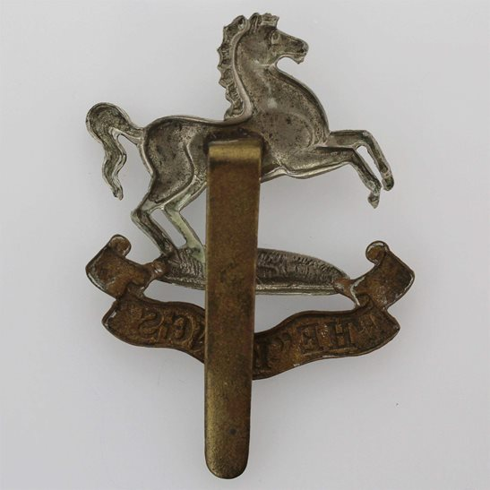 additional image for WW1 Kings Liverpool Regiment (King's) Cap Badge - FIRST PATTERN