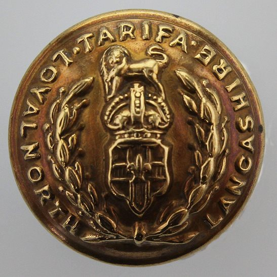 Loyal North Lancashire Loyal North Lancashire Regiment SMALL Tunic Button - 19mm