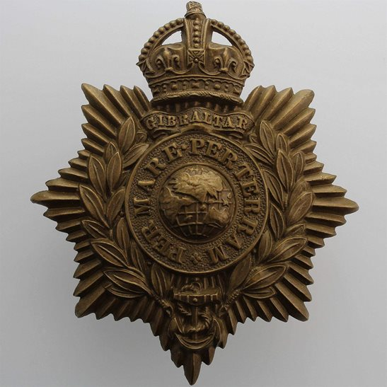 Royal Marines Royal Marines Corps HELMET PLATE Cap Badge