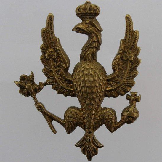 14th/20th Kings Hussars WW2 14th/20th Kings Hussars Regiment (King's) Cap Badge