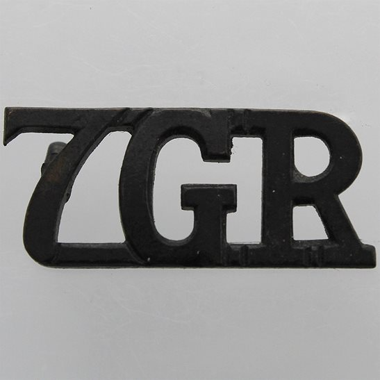 Gurkha Rifles 7th Gurkha Rifles Regiment 7GR Shoulder Title