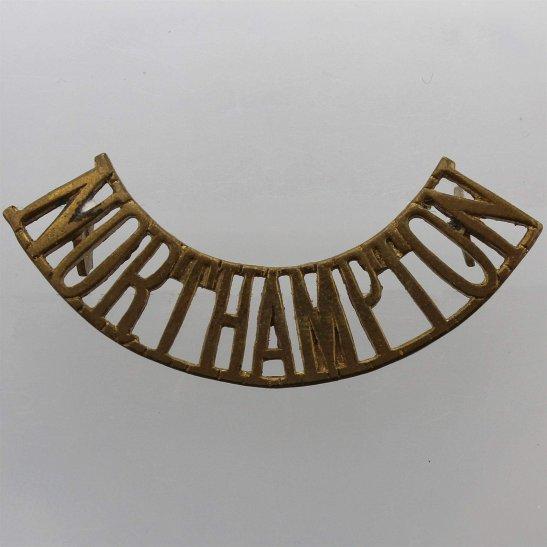 Northamptonshire Regiment Northamptonshire Regiment Shoulder Title