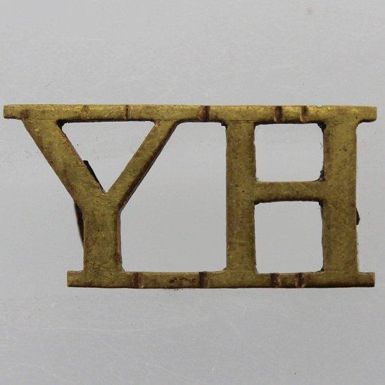 Yorkshire Hussars Yorkshire Hussars Regiment Shoulder Title