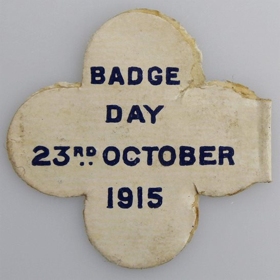 additional image for WW1 Cripples & Children of Soldiers and Sailors Flag Day Fundraising Pin Badge