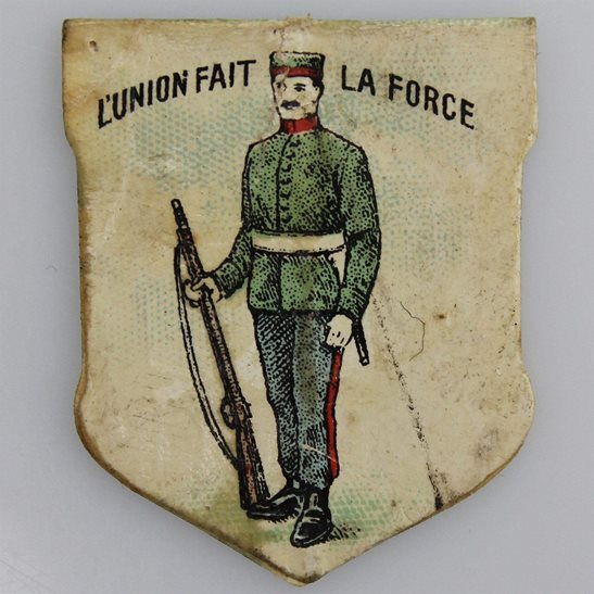 additional image for WW1 King Alberts Army Belgian Soldiers Fund Belgium Flag Day Fundraising Pin Badge