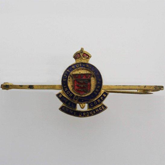 Royal Army Ordnance Corps RAOC WW2 Royal Army Ordnance Corps RAOC Sweetheart Brooch