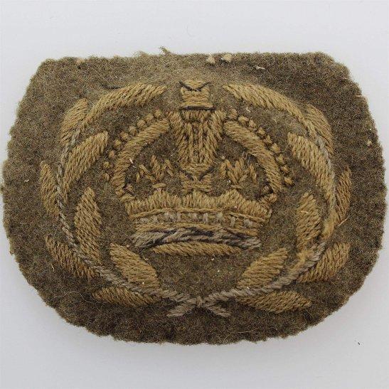 WW2 Warrant Officer 2nd Class 2 Cloth Arm / Sleeve Insignia Rank Badge