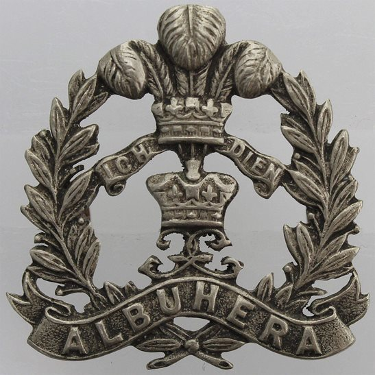 Middlesex Regiment Middlesex Regiment Officers WHITE METAL Territorial Collar Badge