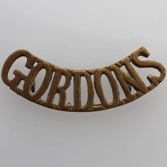 Gordon Highlanders Gordon Highlanders Regiment Shoulder Title