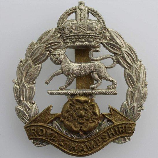 Hampshire Regiment 1946-1952 Royal Hampshire Regiment Cap Badge