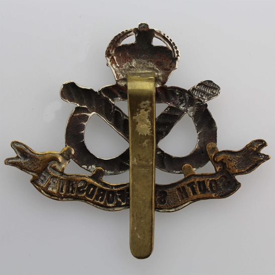 additional image for WW2 South Staffordshire Regiment Cap Badge