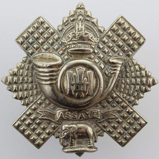 Highland Light Infantry WW2 Highland Light Infantry Regiment HLI Scottish Cap Badge