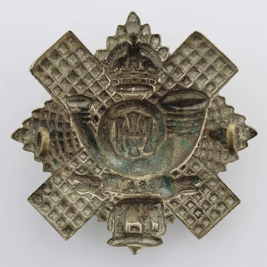 additional image for WW2 Highland Light Infantry Regiment HLI Scottish Cap Badge