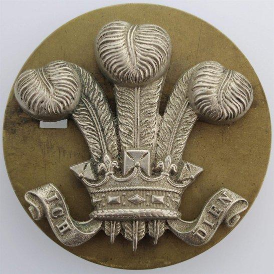 10th Royal Hussars Original 10th Royal Hussars Regiment NCOs Arm / Sleeve Cap Badge