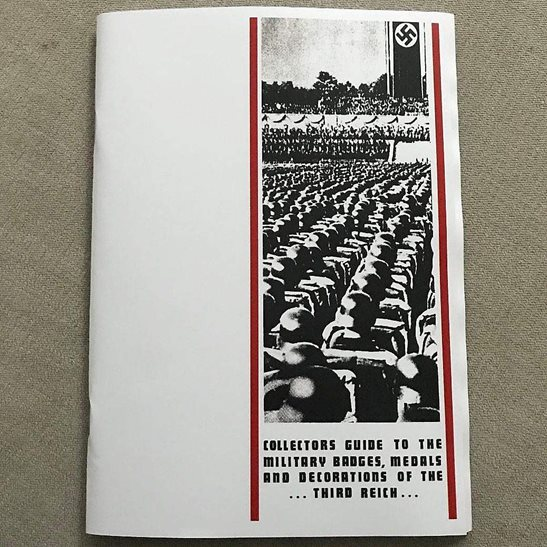 WW2 German Army Collectors Guide Booklet to WW2 German Badges, Medals and Decorations 3rd Reich