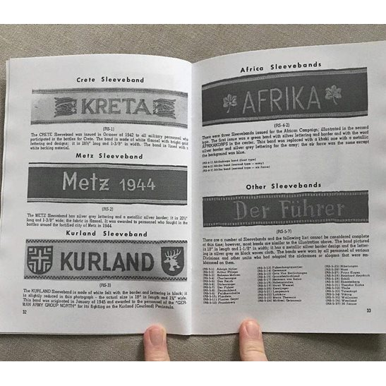 additional image for Collectors Guide Booklet to WW2 German Badges, Medals and Decorations 3rd Reich