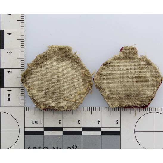 additional image for WW2 British Army Officers CLOTH Insignia Crown Pips - Rank of Major Set PAIR