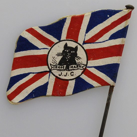 WW1 British Union Jack Flag Day War Effort Patriotic Fundraising Pin Badge