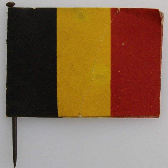 WW1 Belgium War Effort Belgian Flag Day Fundraising Pin Badge