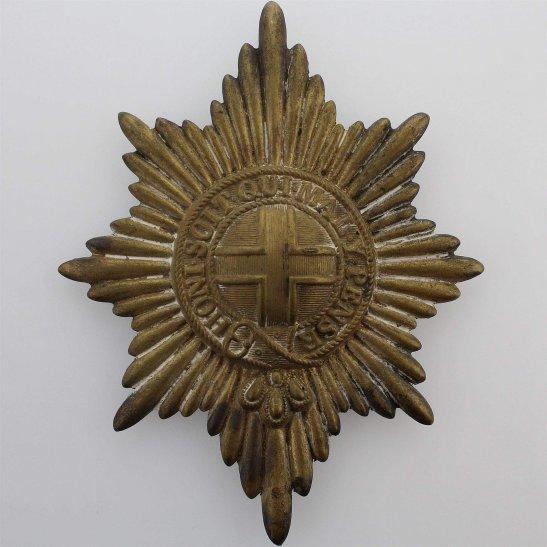 Coldstream Guards WW1 Coldstream Guards Regiment Valise Cross Belt Plate / Pouch Badge