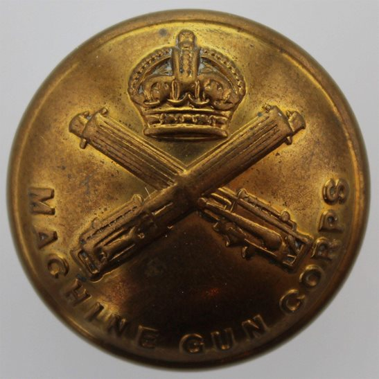 Machine Gun Corps MGC WW1 Machine Gun Corps MGC Tunic Button - 26mm