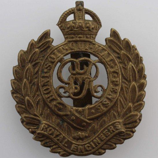 Royal Engineers WW1 Royal Engineers Corps (George V) Cap Badge