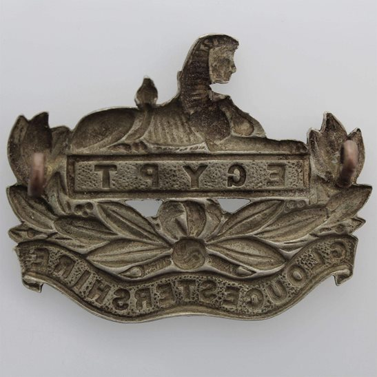 additional image for Gloucestershire Regiment Cap Badge - EARLY LUGS VERSION