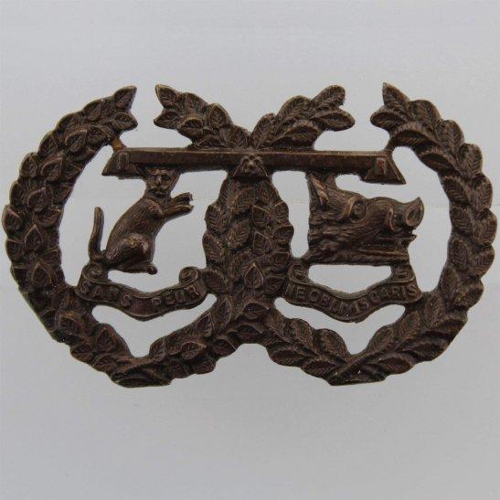 Argyll and Sutherland Highlanders Argyll and Sutherland Highlanders Regiment Officers BRONZE Collar Badge
