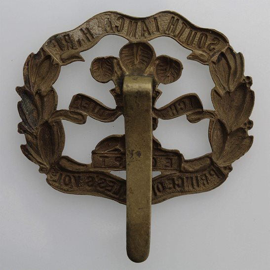 additional image for WW1 South Lancashire Regiment ALL BRASS Economy Issue Cap Badge