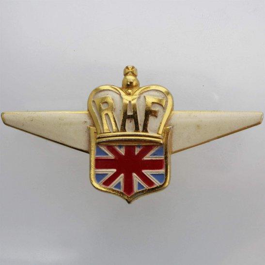 Royal Air Force RAF WW2 Royal Air Force RAF British American Ambulance Corps Lapel Badge