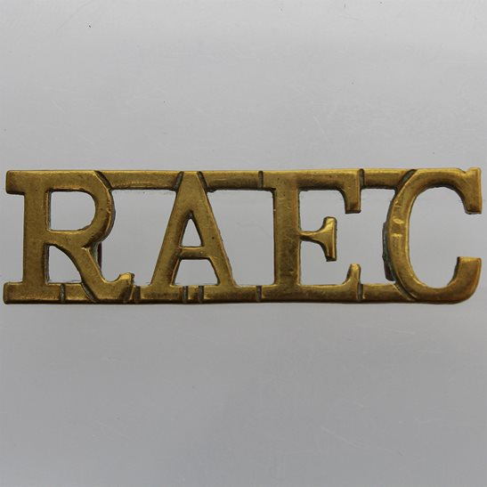 Royal Army Educational Corps RAEC WW2 Royal Army Educational Corps RAEC Shoulder Title