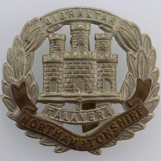 Northamptonshire Regiment WW2 Northamptonshire Regiment Cap Badge
