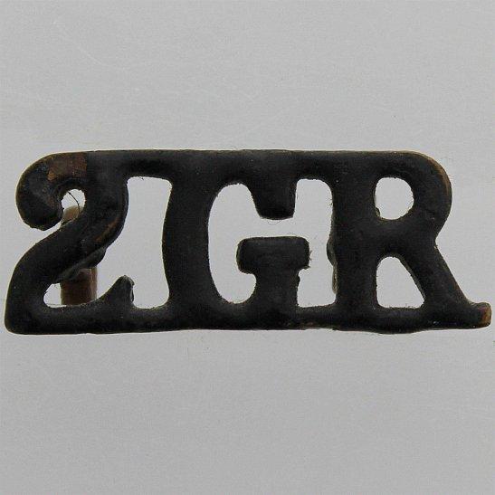 Gurkha Rifles 2nd Gurkha Rifles Regiment 2GR Shoulder Title