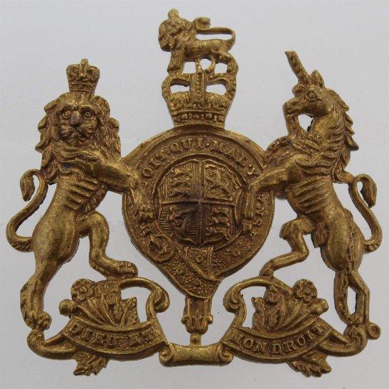 General Service Corps General Service Corps / Regiment Cap Badge - Queens Crown