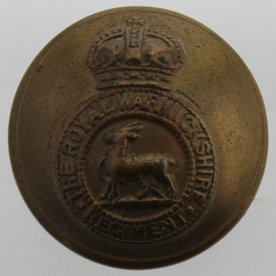Royal Warwickshire Royal Warwickshire Regiment Tunic Button - 26mm