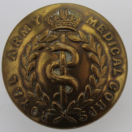 Royal Army Medical Corps RAMC WW1 Royal Army Medical Corps RAMC Tunic Button - 26mm