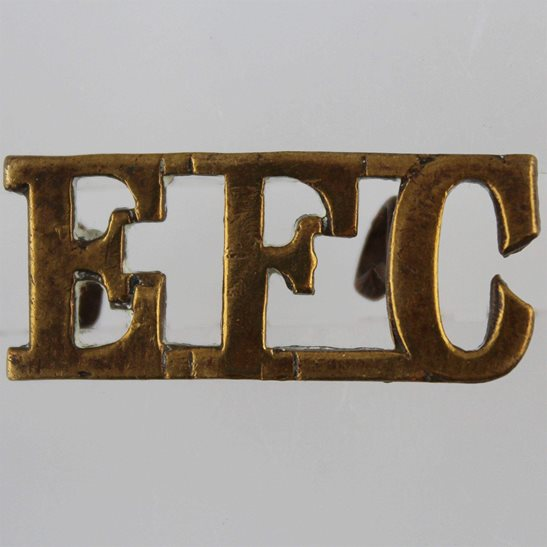 Army Catering Corps ACC WW1 British Expeditionary Force Canteen EFC Shoulder Title
