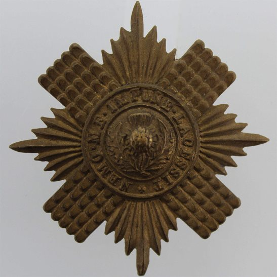 Scots Guards WW1 Scots Guards Regiment (Scottish) Cap Badge