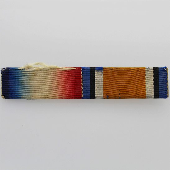 WW1 Pair (1914/15 Star & British War Medal) Ribbon Bar - PIN BACK