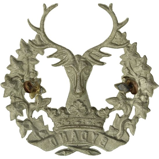 additional image for WW1 Gordon Highlanders Regiment Cap Badge